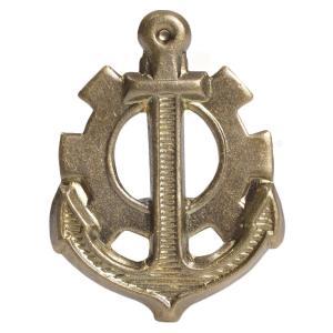 チェコ軍放出品 バッジ 記章 海軍機関士 チェコスロバキア 実物 ピンバッジ 襟章 胸章 帽章 ミリタリー 軍物 軍払い下げ品 revolutjp