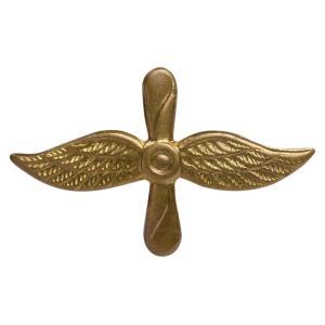 チェコ軍放出品 バッジ 記章 空軍 チェコスロバキア 実物 ピンバッジ 襟章 胸章 帽章 ミリタリー 軍物 軍払い下げ品 revolutjp