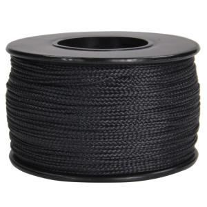 ATWOOD ROPE ナノコード 0.75mm ブラック アトウッドロープ ARM Nano cord 黒 Black 紐 災害 緊急 極細 revolutjp