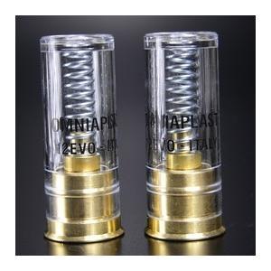 OMNIAPLAST スナップキャップ 12ゲージ 12番 EVO 真鍮 2個 空撃用 ダミーカート ダミーラウンド銃 ショットガン弾|revolutjp|02