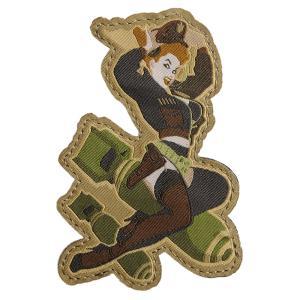 MIL-SPEC MONKEY ミリタリーパッチ 女兵士 爆弾 ベルクロ ミリタリーワッペン アップリケ 記章 徽章 襟章 肩章 胸章 階級章|revolutjp