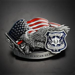 ベルトバックル ポリス 星条旗 イーグル REAL AMERICAN HERO リアルアメリカンヒーロー 鷲 フラッグ ベルト用バックル|revolutjp