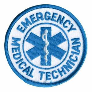 Rothco ミリタリーワッペン アメリカ救急救命士 熱圧着式 EMT | ミリタリーミリタリーパッチ アップリケ 記章 徽章 襟章 肩章 胸章|revolutjp