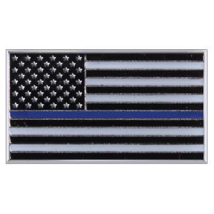 Rothco ピンバッジ 星条旗  シン・ブルー・ライン 1967 ピンズ ミリタリーバッジ ミリタリーバッチ 記章 徽章 襟章 肩章 胸章 袖章|revolutjp