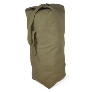 Rothco ダッフルバッグ 帆布 [ オリーブドラブ / Sサイズ ] ロスコ ミリタリー バックパック かばん カジュアルバッグ カバン 鞄|revolutjp