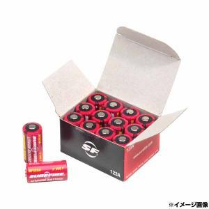 シュアファイア リチウム電池 SF123A [ 12個セット ] CR123A リチウムイオン電池 ...