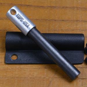 TOPS KNIVES ファイヤースターター 着火具 ピギーバック | トップス マグネシウム メタルマッチ ファイアースターター サバイバルグッズ 火おこし 火起こし