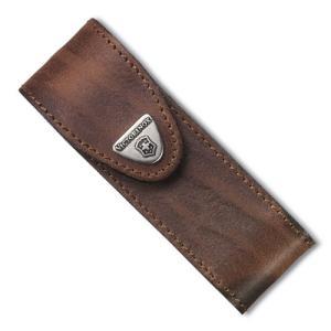 ●仔牛の皮をなめした、カーフレザーを使用したナイフケースで、裏側にはベルト通しが付いており、マジック...