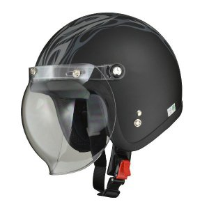 ヘルメット  リード工業 (LEAD) スモールジェット MOUSSE MAT.TB フリー