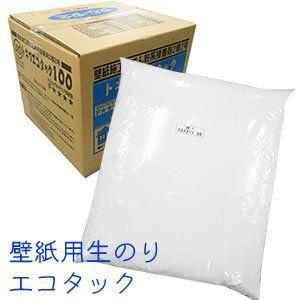 のりなし壁紙用生のり「トキワエコタック100」6kg  壁紙を貼るときの生のりです。  ●原液のまま...