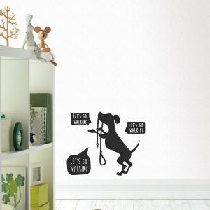 ウォールステッカー 犬 イヌ 北欧 シール 壁デコシール|rewall