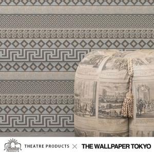 THEATRE PRODUCTS 壁紙 クロス 不織布 アパレル コラボ 貼ってはがせる壁紙|rewall