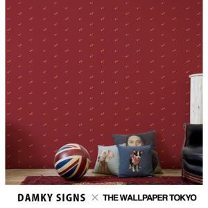 DAMKY SIGNS 壁紙 クロス 不織布 ブランド 貼ってはがせる壁紙 rewall