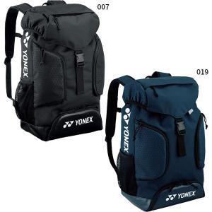 ヨネックス YONEX テニス バドミントン ゴルフ アスレバックパック ブラック リュックサック 日本正規品 bag158at|rex2020