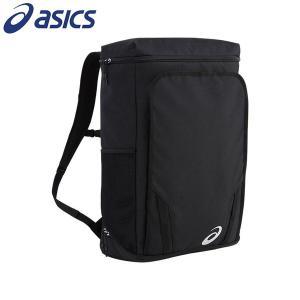 ASICS リュックサック 40L バックパック スポーツ アシックス 黒 シンプル EBA647 ユニセックス 男女兼用|rex2020