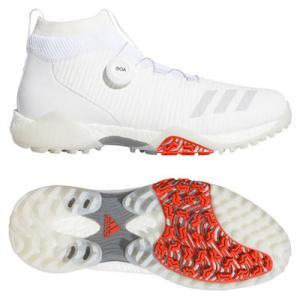 アディダス コードカオス ボア ゴルフシューズ メンズ スパイクレス 2E ホワイト adidas golf 男性用 EPC16 EE9106 送料無料 あす楽 あすつく|rex2020