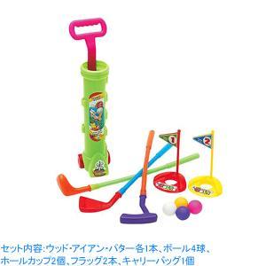 UNIX ジュニア ゴルフセット キッズ 子供用 スポーツ玩具 おもちゃ 室内 おうち FD10-72 rex2020