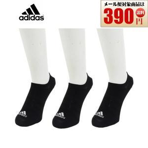 adidas 靴下 3足セット ソックス ブラック 黒 3P FXI51 DZ9416 アディダス  男女兼用 22〜24cm 25〜27cm 日本正規品|rex2020