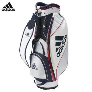 adidas マストハブ キャディバッグゴルフ バッグ アディダス 9型 2.9kg 47インチ対応 ホワイト/カレッジネイビー|rex2020