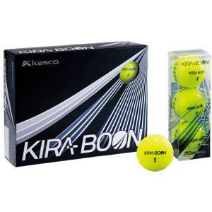 KIRA BOON キラブーン ゴルフボール キラ最大反発モデル キャスコ 2018モデル  1ダース(12個) 日本正規品 rex2020