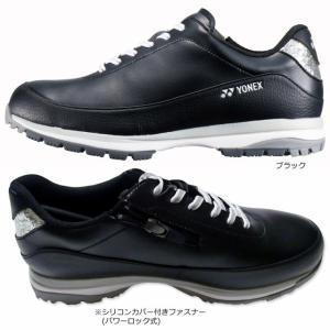 YONEX レディース パワークッション SHG-705L ゴルフシューズ 女性用 ブラック 黒 あす楽 2019年継続モデル 日本正規品|rex2020