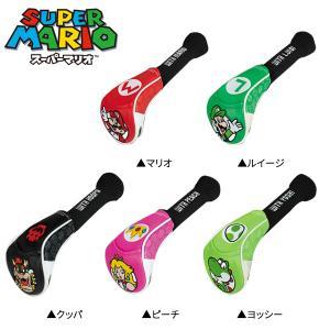 スーパーマリオ フェアウェイウッド用 ヘッドカバー SUPER MARIO BROS. SMHF001 SMHF002 SMHF003 SMHF004 SMHF005|rex2020