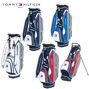 トミーヒルフィガー ゴルフ ストライプ スタンドキャディバッグ THMG1SC7 Tommy Hilfiger 送料無料|rex2020