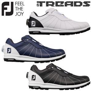 FJ TREADSBOA ゴルフシューズ トレッドボア スパイクレス フットジョイ Footjoy メンズ 男性用 送料無料 2019|rex2020