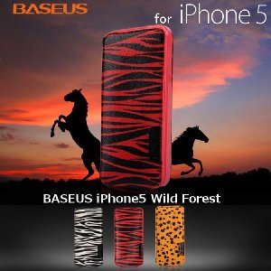 iPhone5s iPhone5 Wild Forest ケース カバー BASEUS rexiao