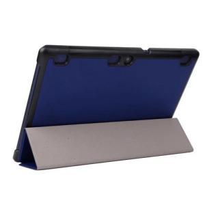 LAVIE Tab E TE510/BAL PUレザーケース タブレット カバー  液晶保護フィルム付