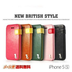 iPhone5s iPhone5 ケース カバー NEW BRITISH STYLE DER|rexiao
