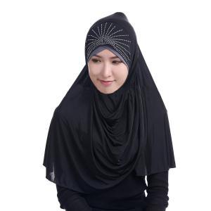 ムスリムウェア レディース ヒジャブ キャップ スカーフ 帽子 ヘッドカバー インナー 女性 イスラ...