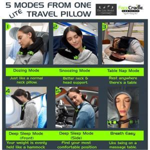 FaceCradle lite (フェイスクレイドル ライト グレー) 5Way 3段階 角度 調節...