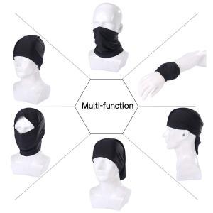 アウトドアフェイスマスク ネックウォーマー 目出し帽 通気性 保温性 速乾性 サラっとした着け心地 ...