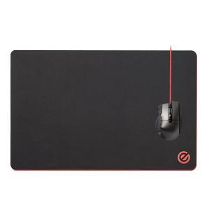 エレコム ゲーミングマウスパッド デスクマット 大型 460mm×297mm ブラック MP-G02...