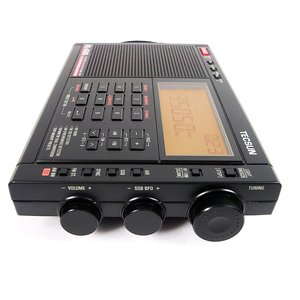 TECSUN PL-680 SSB・エアバンド・同期検波 ハイエンド短波ラジオ ポータブルBCL受信...