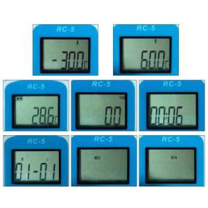 RC-5 USB温度データーロガー 温度記録計 データレコーダー 32000ポイント 簡単に温度を記...
