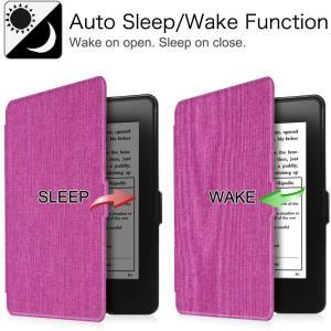 Fintie for Kindle Paperwhite ケース 超薄 軽量 保護カバー オートスリ...