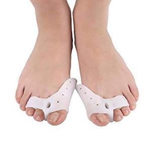 BigMe 外反母指 浮き指 矯正グッズ 親指ジェルパッド 足 指 セパレーター 足の指 広げる な...