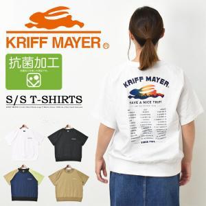 KRIFF MAYER クリフメイヤー レディース バックプリント TRIP 半袖Tシャツ ロゴ プ...