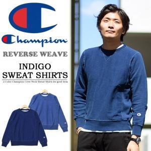 Champion(チャンピオン) REVERSE WEAVE  インディゴ スウェットシャツ  19...