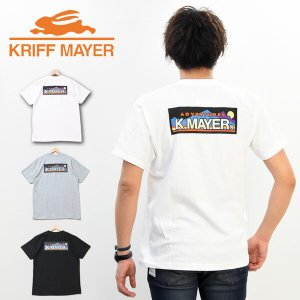SALE KRIFF MAYER クリフメイヤー ブランドロゴTEE Adventure バックプリント ボックスロゴ 半T Tシャツ 1919902 rexone