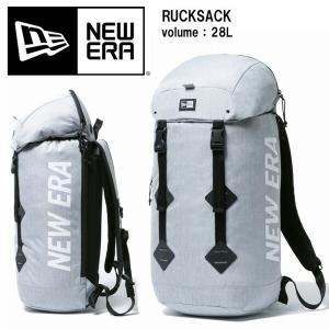 NEW ERA ニューエラ RUCKSACK ラックサック 28L バックパック メンズ レディース ユニセックス 12108422 ヘザーライトグレー ホワイト|rexone