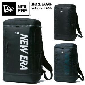 NEW ERA ニューエラ BOX BAG ボックスパック 26L バックパック メンズ レディース ユニセックス 11783343 11901528 11901530|rexone