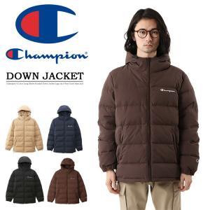 Champion チャンピオン BASIC フーデッド ダウンジャケット アウトドア キャンプ アウター 秋冬用 C3-Q621