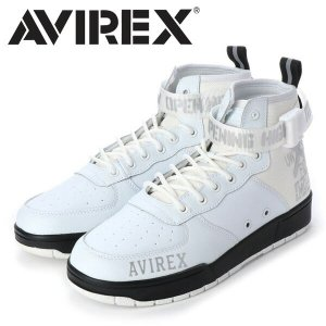 AVIREX アビレックス スニーカー LANGLEY MID 靴 ラングレーミッド ハイカット アヴィレックス メンズ 送料無料 AX1272|rexone