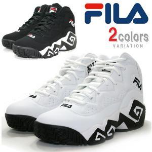 FILA フィラ スニーカー NBA ジャマール・マッシュバーン シグネーチャーモデル バッシュ カジュアル 靴 シューズ 送料無料 FHE102|rexone