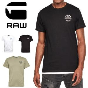 G-STAR RAW ジースターロウ ロゴプリント 半袖Tシャツ Originals Logo T-Shirt プリントTシャツ ロゴTシャツ D16377-336 rexone