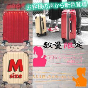 スーツケース 人気 Mサイズ キャリーケース 中型 TSAロ...