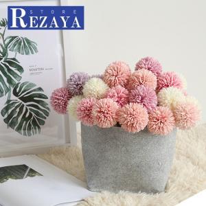 造花 インテリア お洒落 雑貨 ナチュラル 飾り  13本  合わせやすい  部屋装飾 花束 ブーケ フェイクグリーン プレゼント ギフト